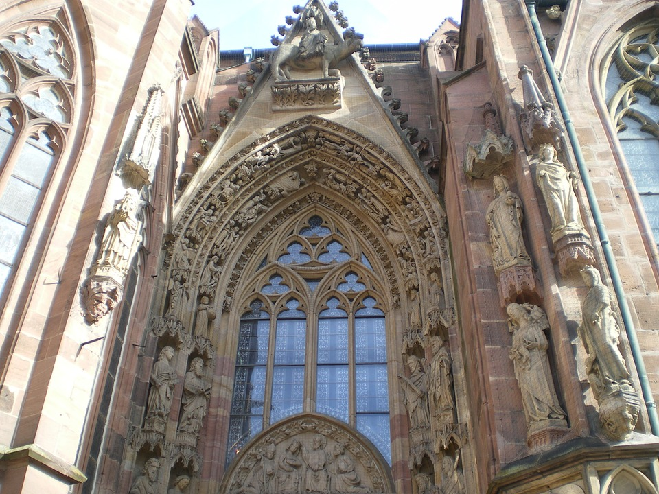 Dom, Worms, Church Window