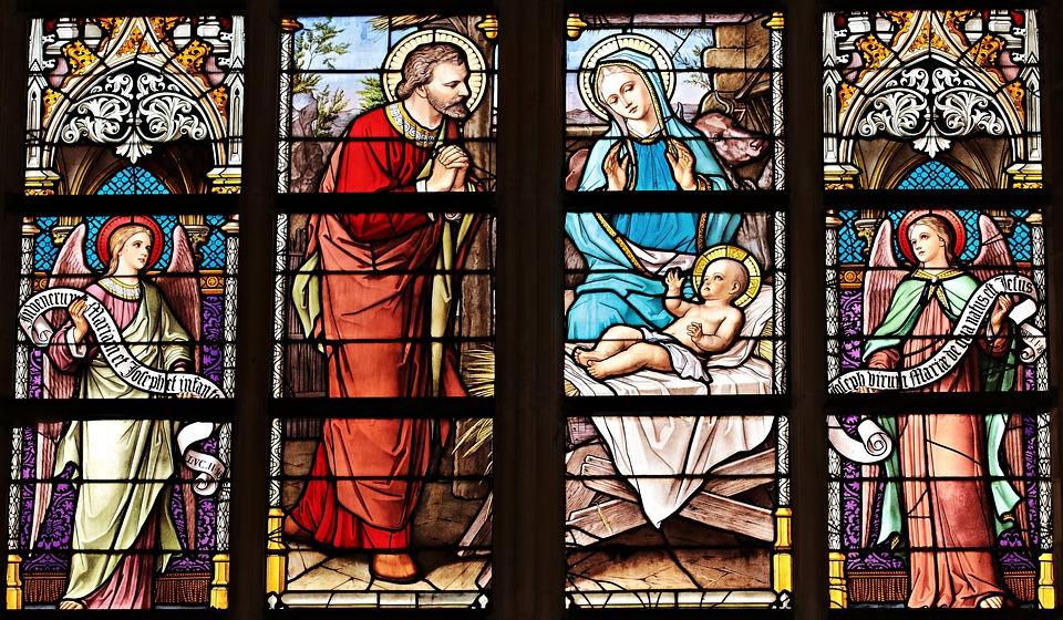 Church Windows, Stained Glass Windows, Church