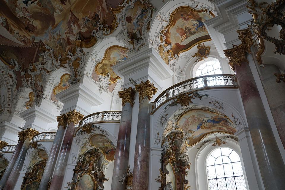 Church, Zwiefalten, Baroque, Faith, God, Münster