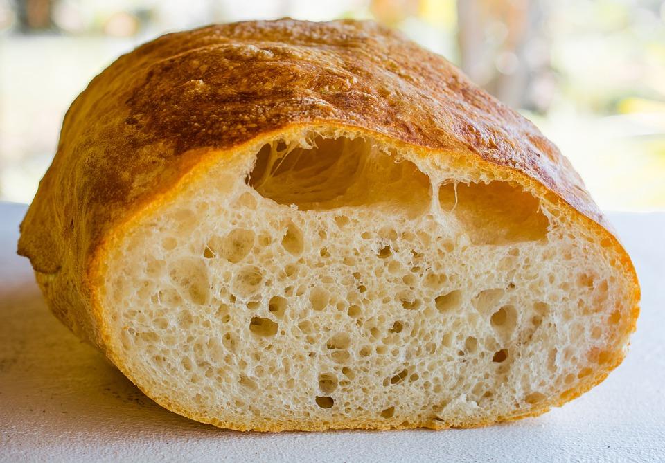 Ciabatta, Bread, Pastries, White Bread Pastries