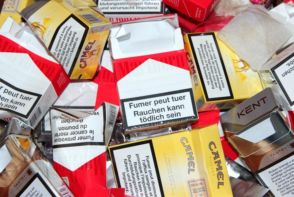 Cigarette Box, Empty, Unhealthy, Smoking, Nicotine