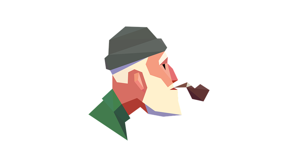 Old Man, Smoking, Cigarette, Smoke, Old, Grandfather