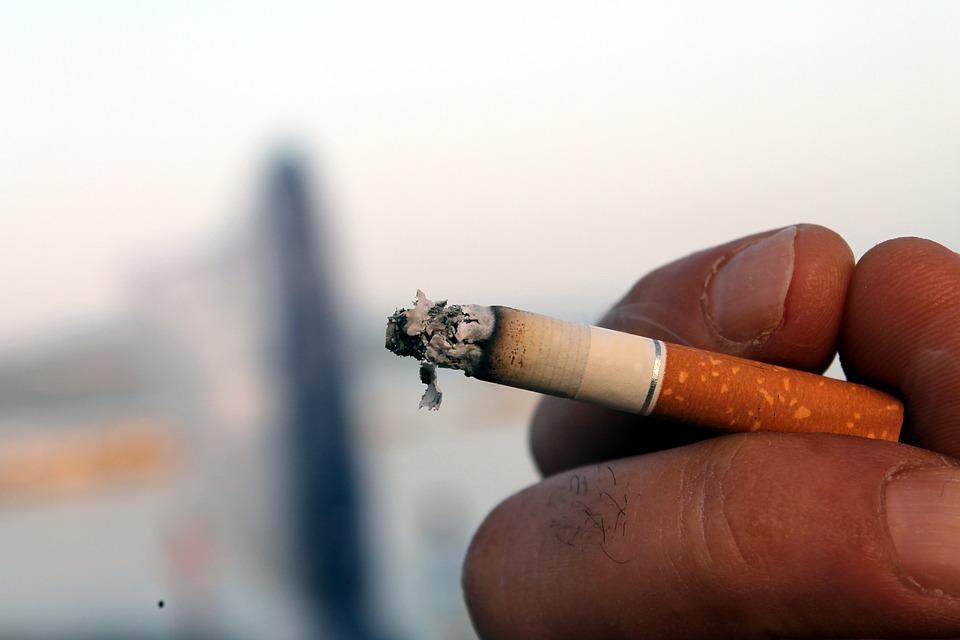 Cigarette, Smoke, Tobacco, Hand With Cigarette