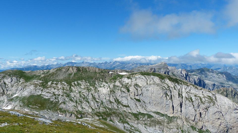 Cima Pian Ballaur, Mountains, Cima Della Saline