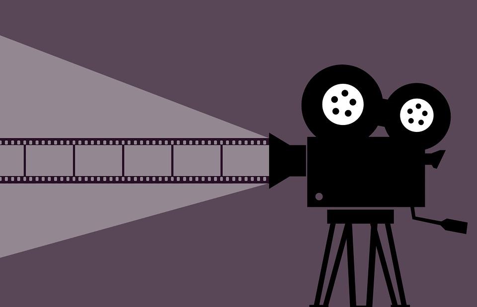 Cinema, Movie, Camera, Projector, Film, Video, Clip