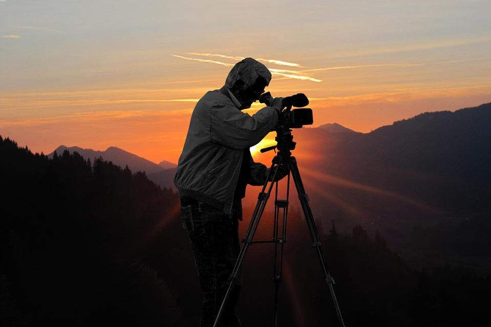 Back Light, Sunset, Cinematographer