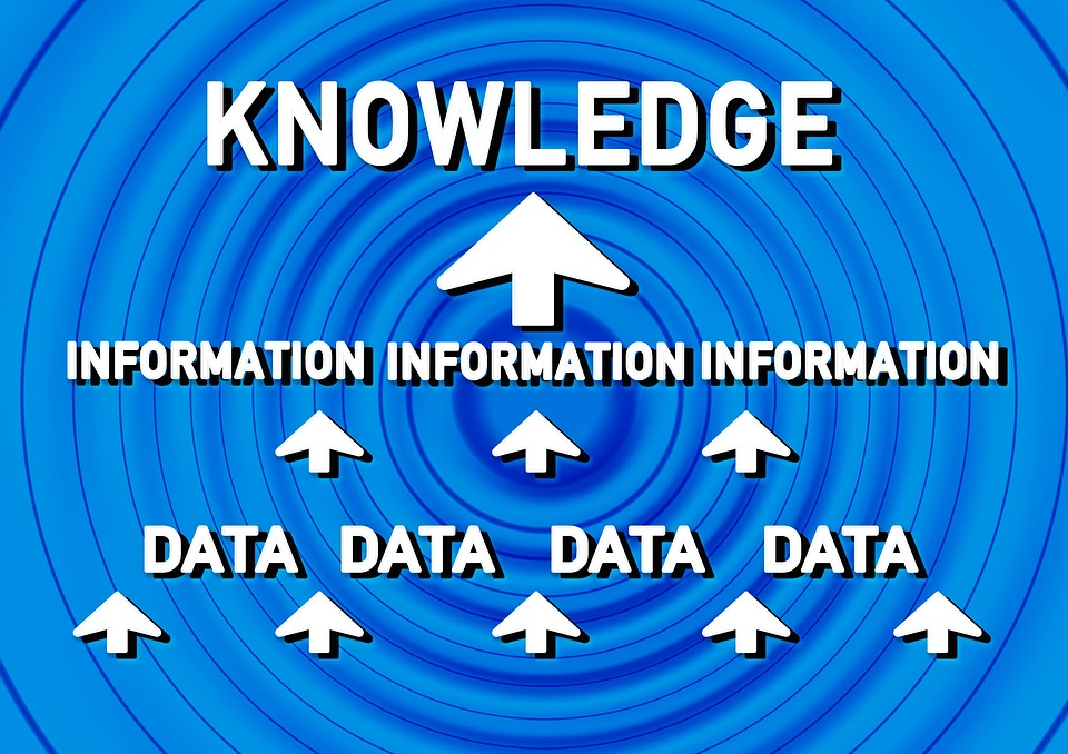 Data, Information, Know, Circle, Learn, Arrangement