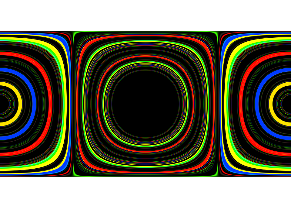 Circle, Lines, Abstract, Wave, Pattern, Swing, Movement