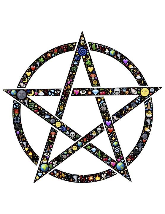 Pentacle, Pentangle, Star, Circle, Symbol, Pentagram