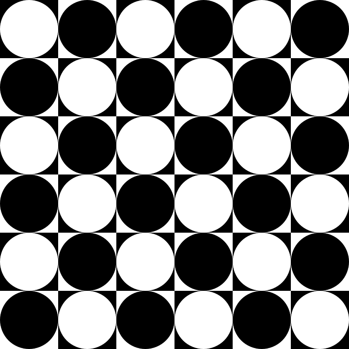 Chessboard, Circles, Inside