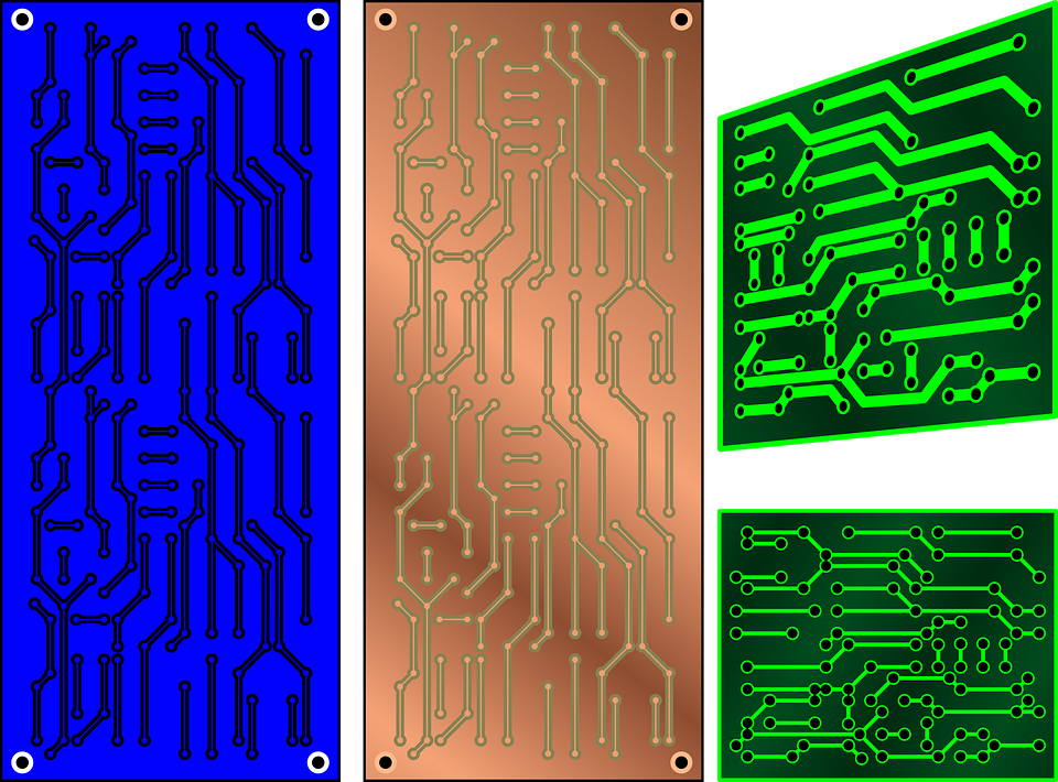 Circuit, Boards, Electronic, Printed Circuit Board, Pcb
