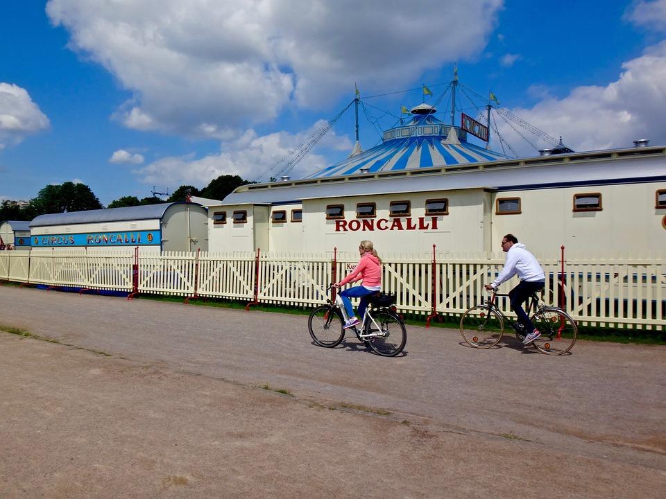 Bike, Leisure, Circus, Wheels, Biker, Cycle, Cycling