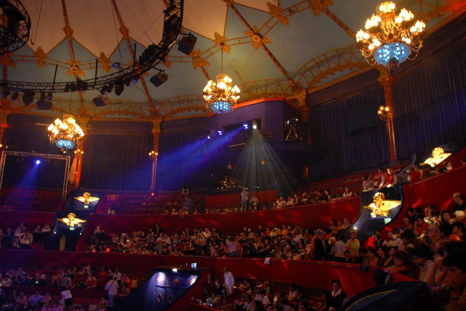 Circus, Circus Tent, Marquee, Audience