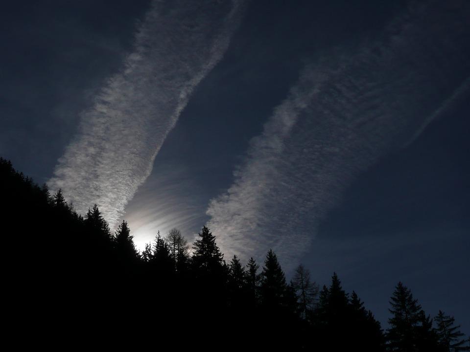 Cloud, Sun, Sky, Weather, Contrail, Cirrus