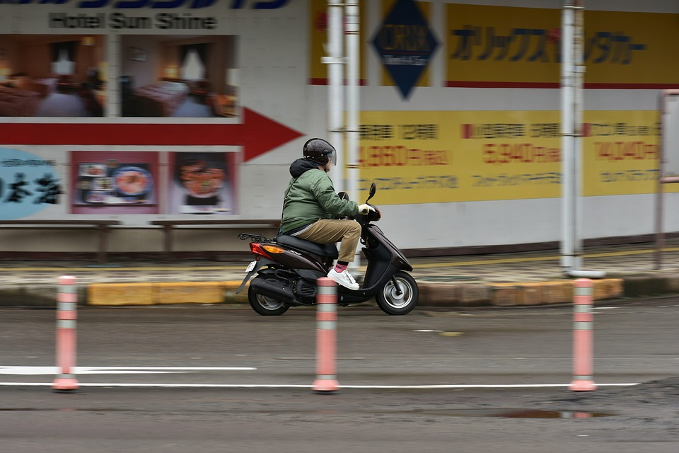 Traffic, Road, City, Cities, Motorcycles, Bike