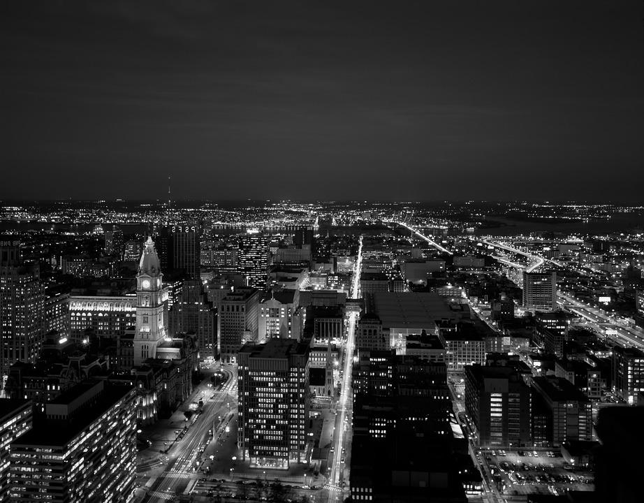 Philadelphia, City, Cities, Urban, Skyline, Aerial View