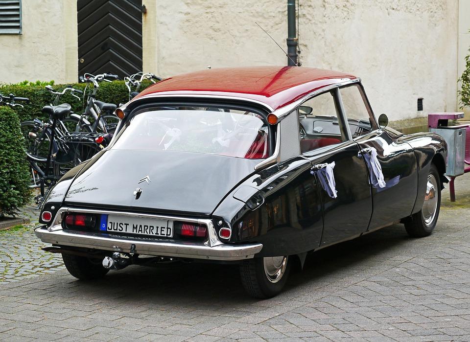 Free photo Citroen Goddess Car Rental Pkw Ds19 Wedding Car - Max Pixel