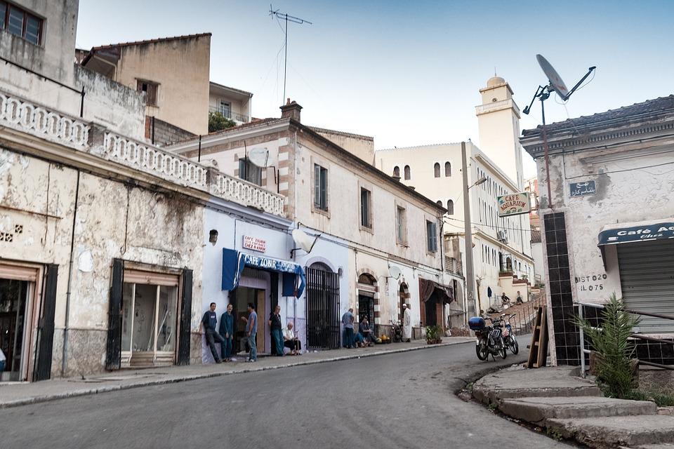 Bejaia, Algeria, City, Mediterranean, Road