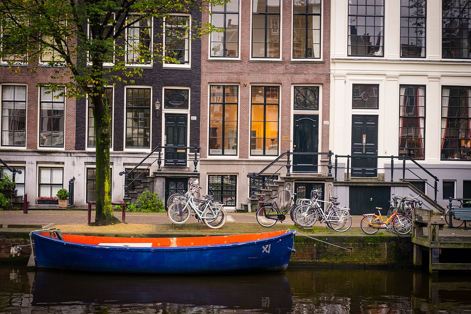 Amsterdam, City, Canal, Canals, Boat, House