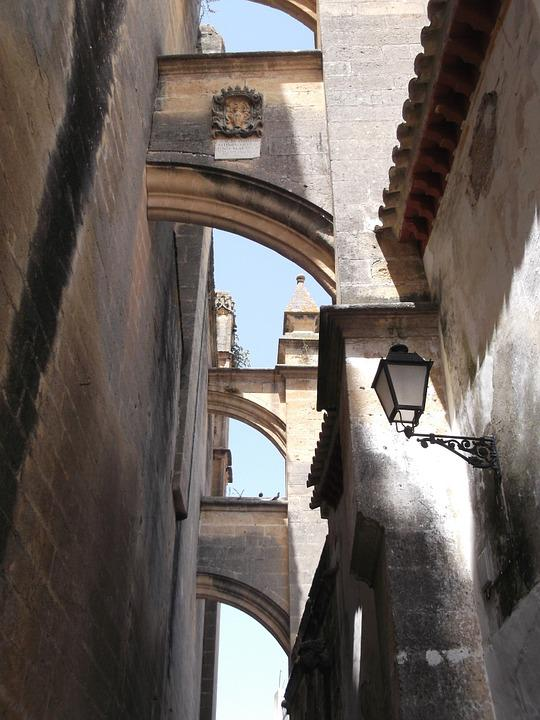 Spain, Andalusia, Arches, City, Architecture, Arch
