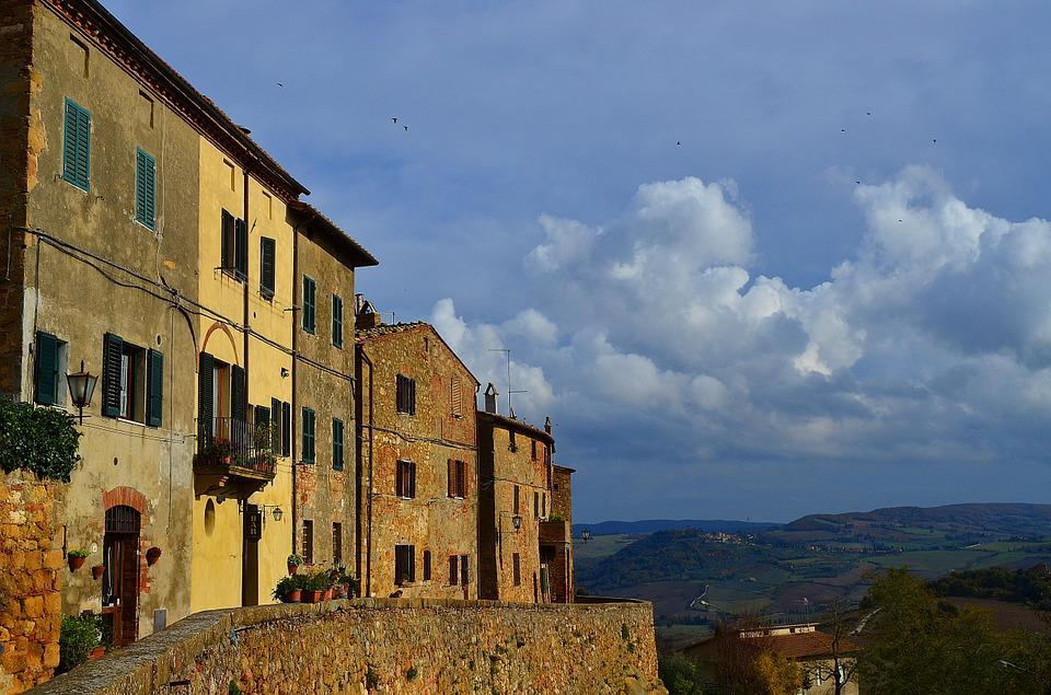 Italy, City, Architecture, Roof, Sky, Building, At Home