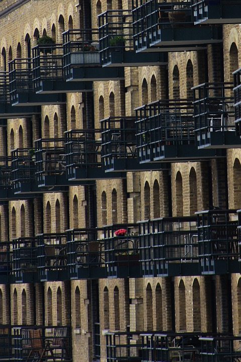 City, London, Architecture