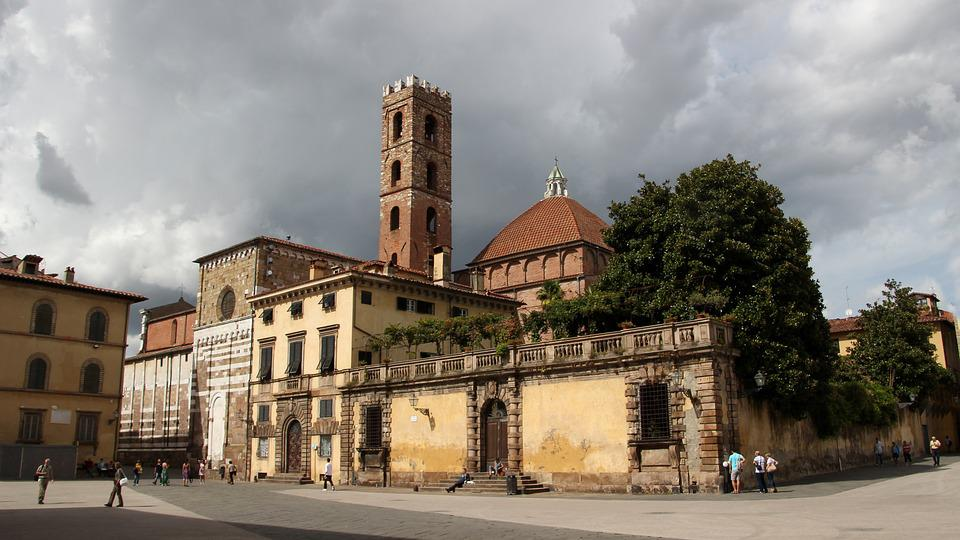 Architecture, Travel, Old, City, Road, Tuscany, Church