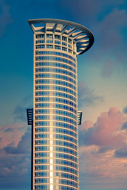 Skyscraper, Building, Architecture, City, Skyline