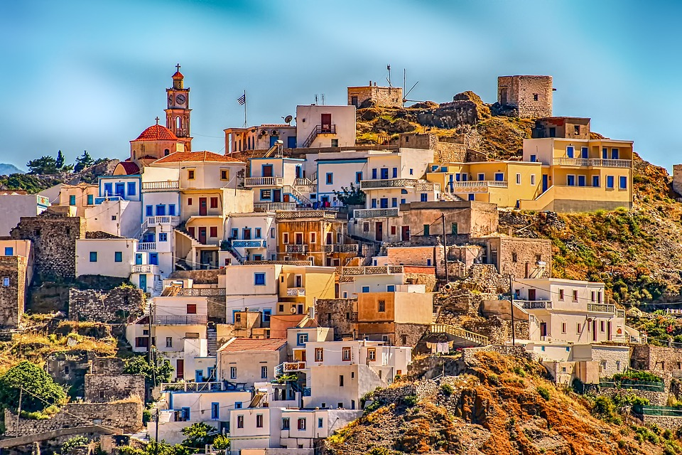 Architecture, City, Panorama, Travel, Holiday, Greece