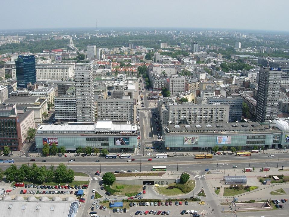 Warsaw, City, Architecture, Poland, Landscape, Vistas