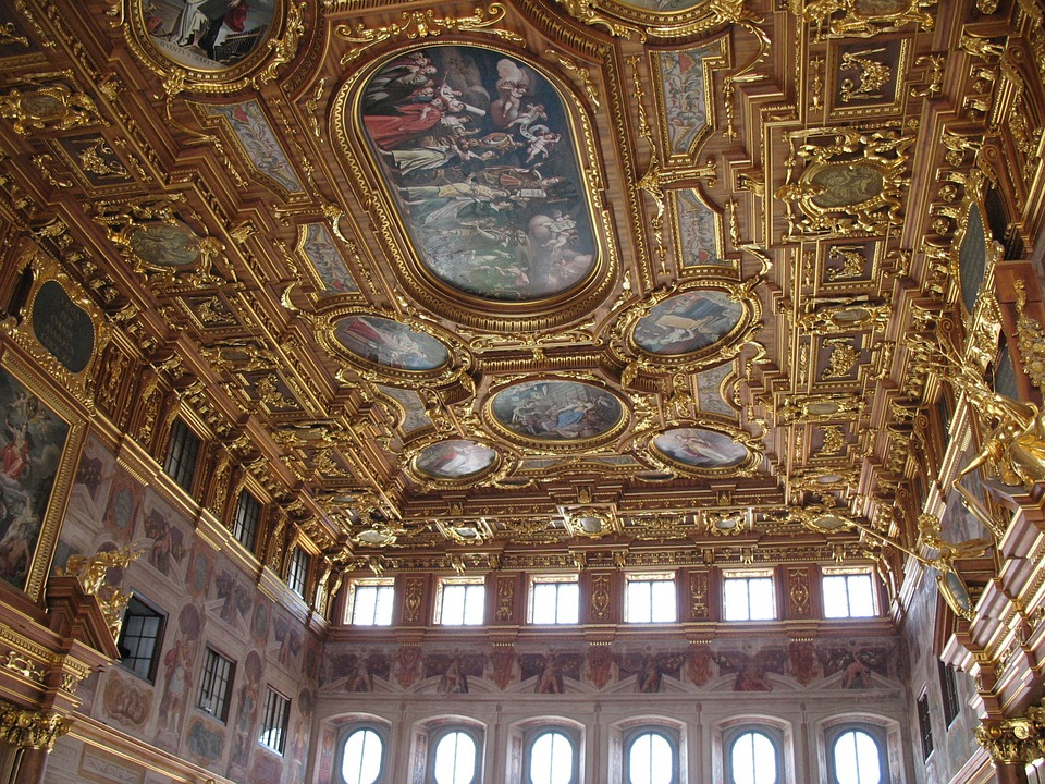 Golden Hall, Town Hall, Historically, City, Augsburg
