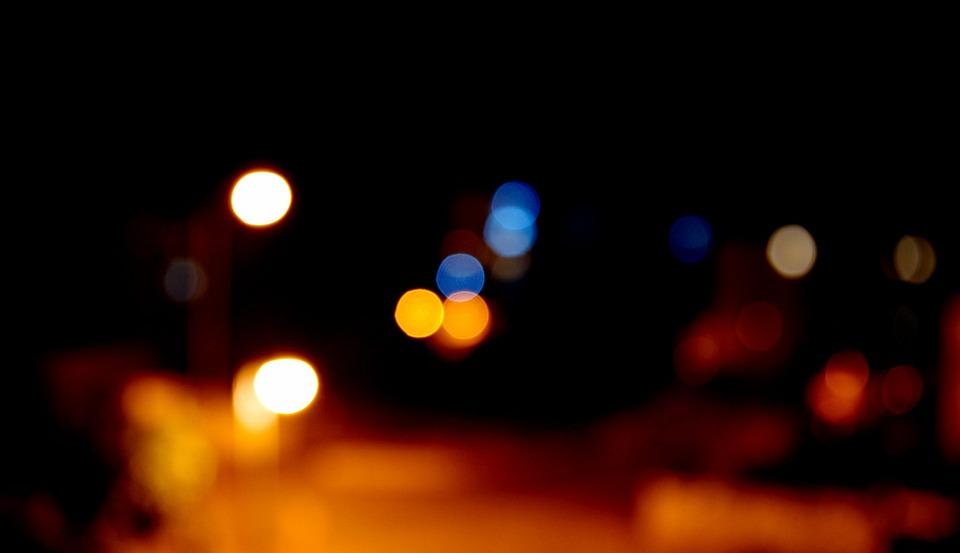 Bokeh, Night, City, Light, Focus, Background