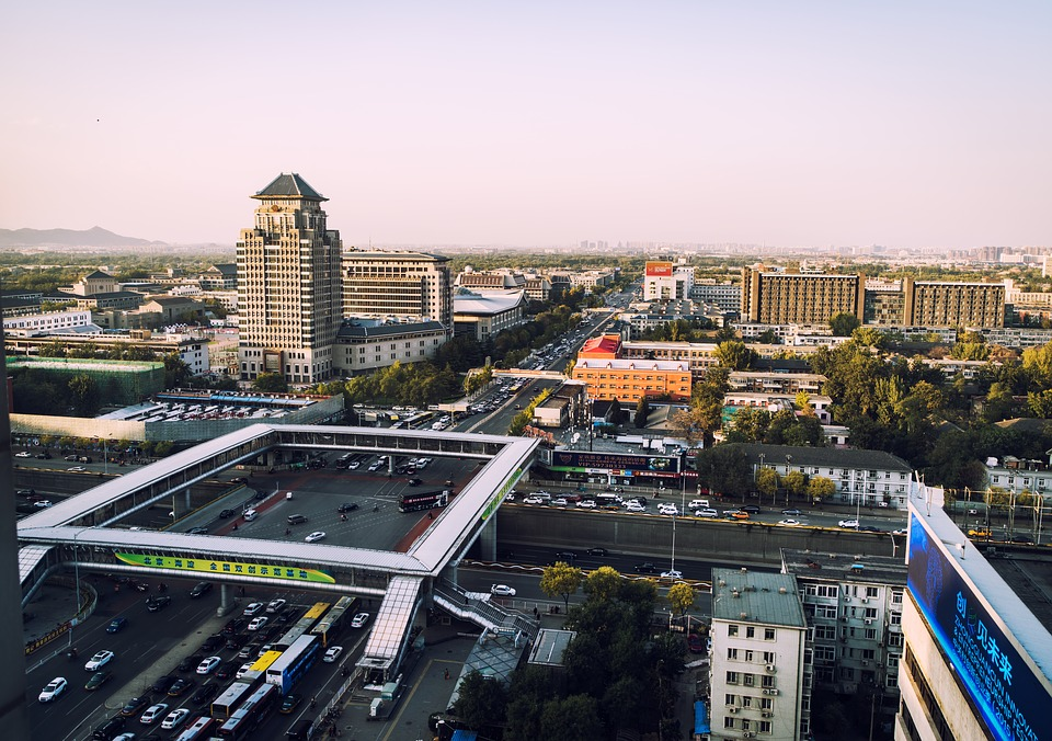 Beijing, Pentax, City, Sunset, Tourism