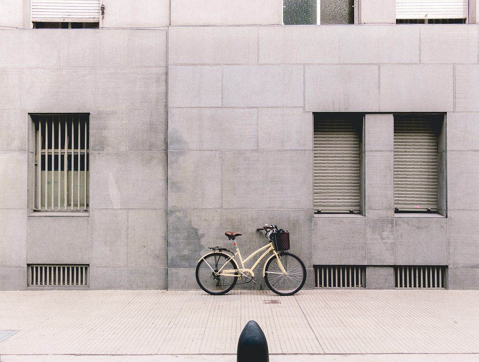 Bicycle, Bike, Old, Street, Wall, City, Transport
