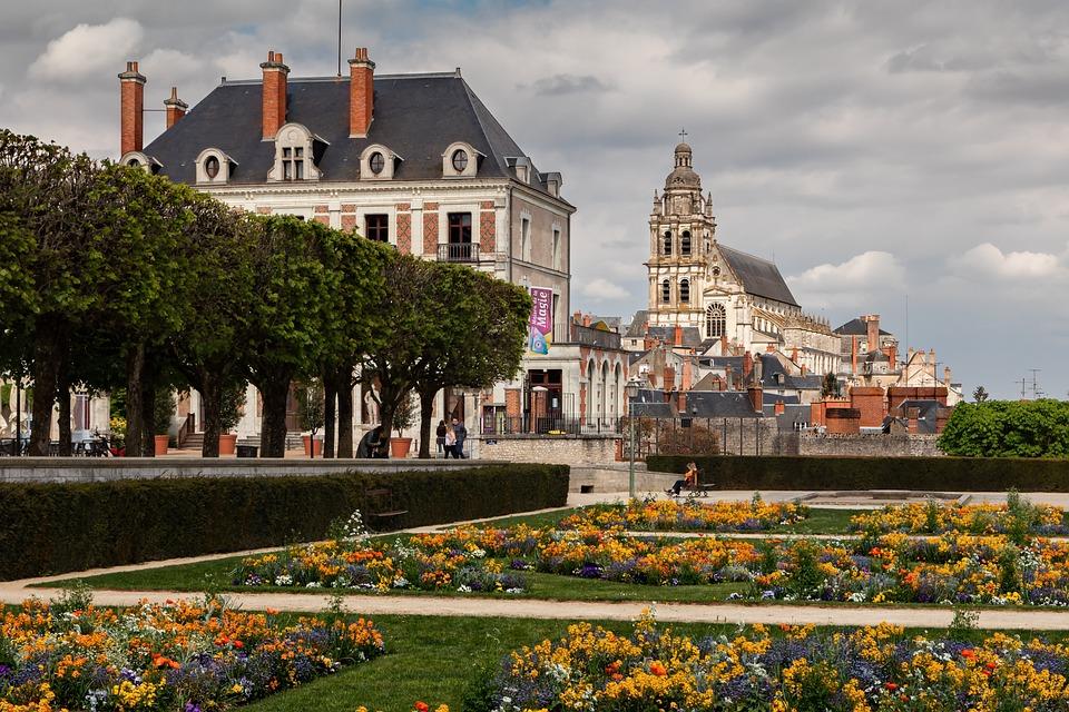 Blois, City, Urban Landscape, Tourism, Outside