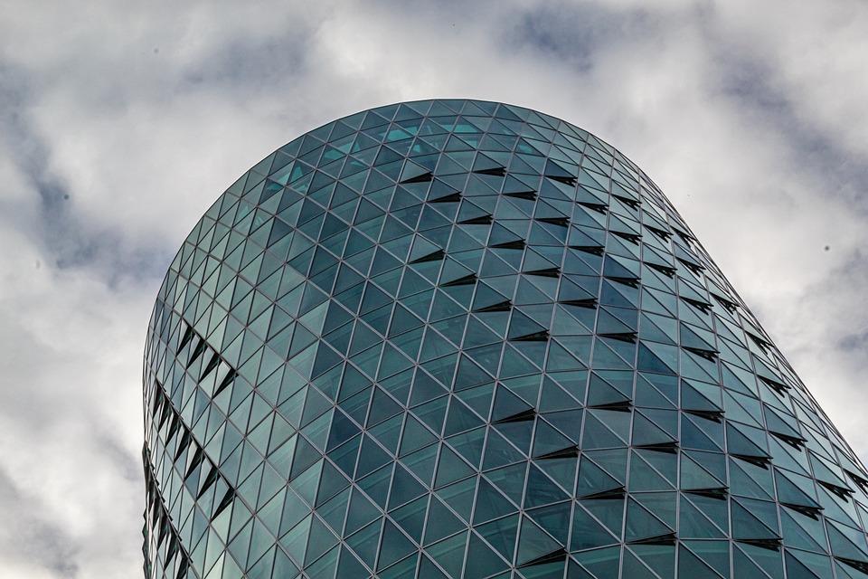 Building, Architecture, City, Skyscraper, Blue, Sky