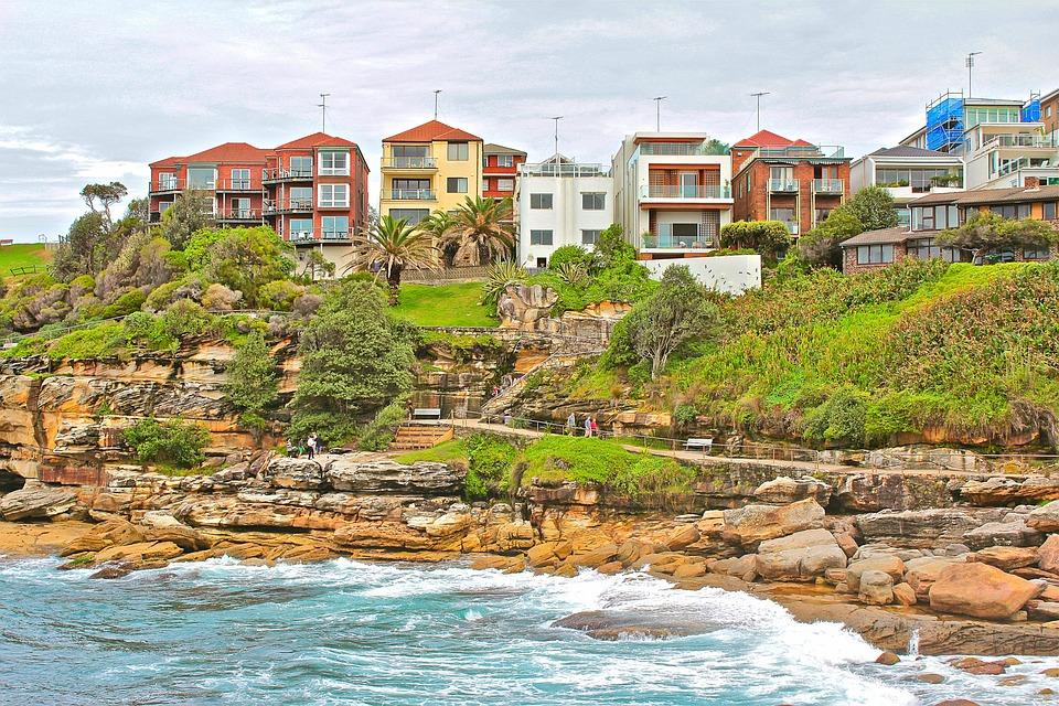 Sydney, Australia, Bondi, City, Architecture, Cityscape