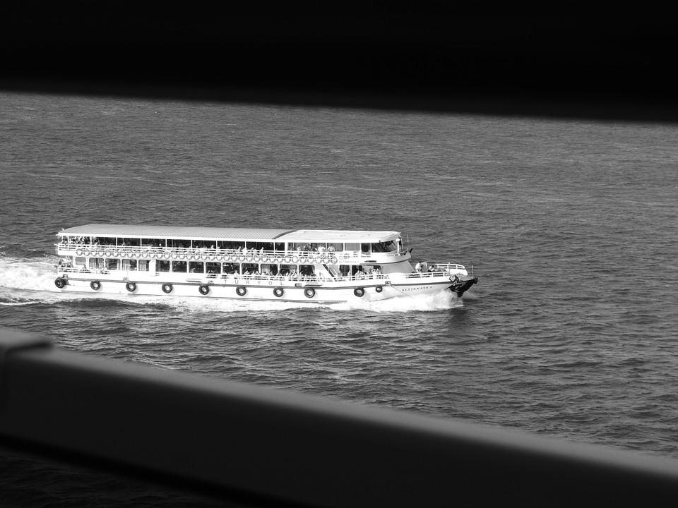 Bosphorus, Bridge, Sea, Bosphorus Bridge, City, View