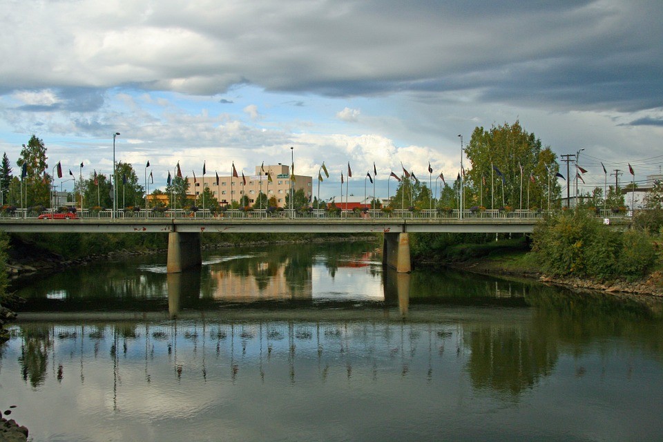 Fairbanks, Alaska, Bridge, City, Vehicular Bridge