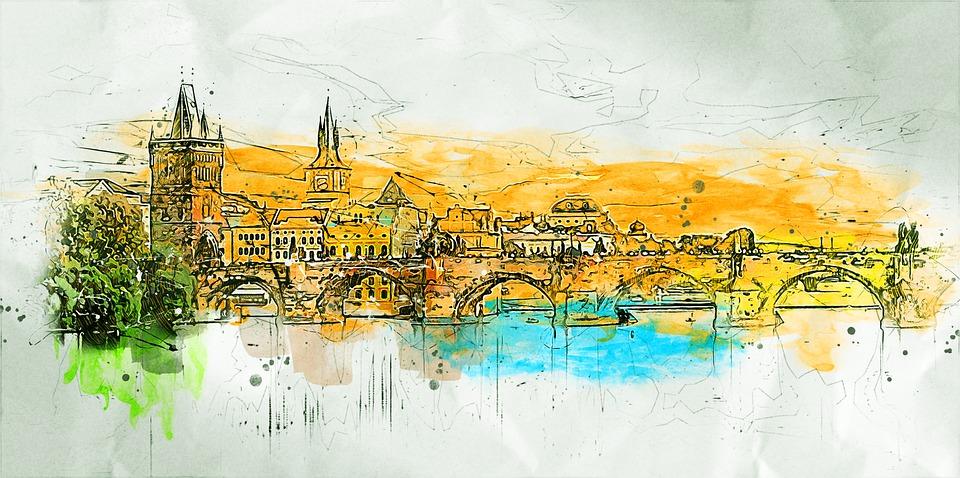 Buildings, Bridge, Architecture, City, Travel, Urban