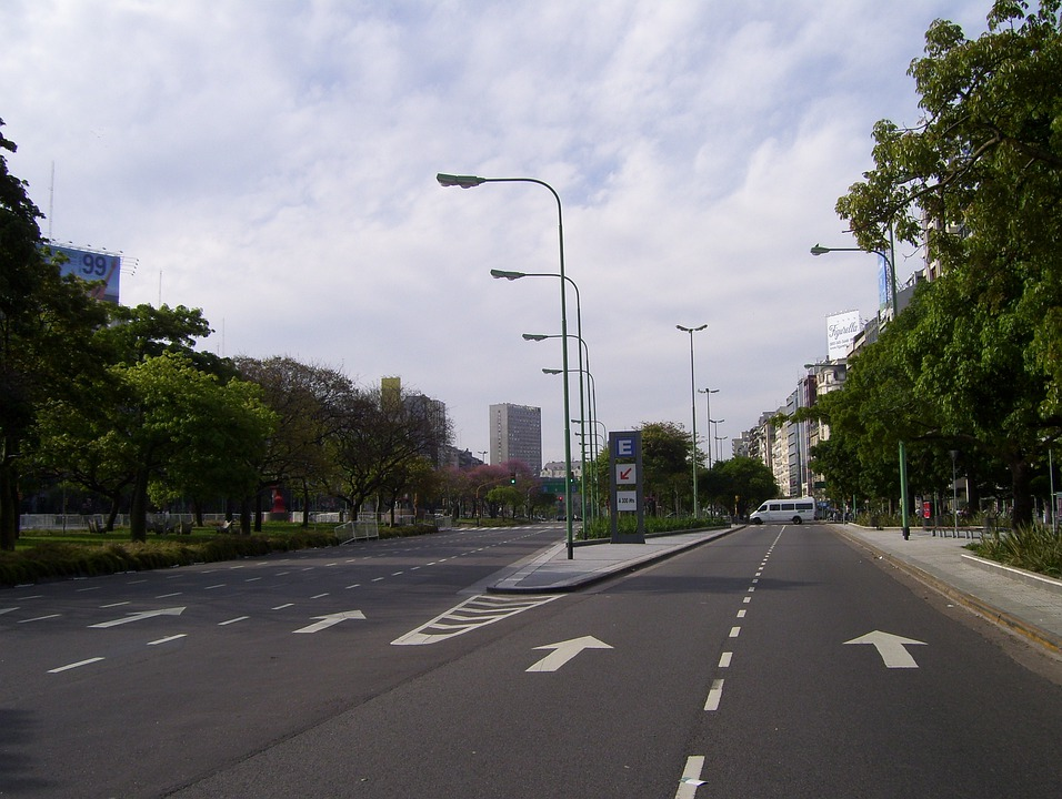 Buenos Aires, Street, City, Argentina, Aires, Buenos