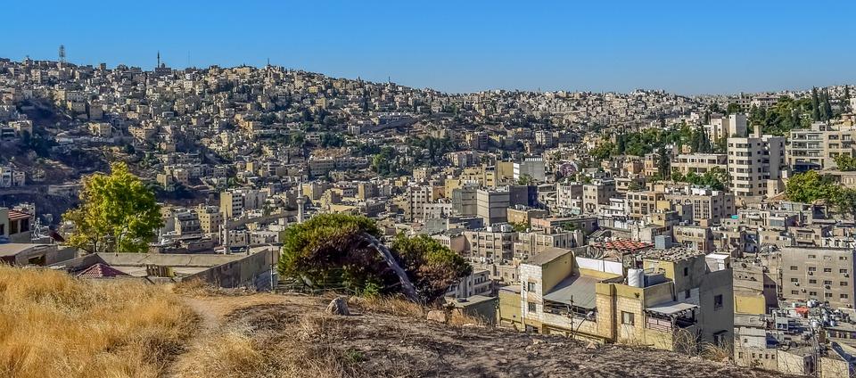 Amman, Jordan, City, Travel, Architecture, Building