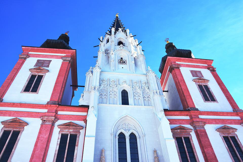 Architecture, Building, City, Sky, Old, Church