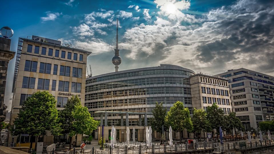 Architecture, City, Building, Sky, Berlin