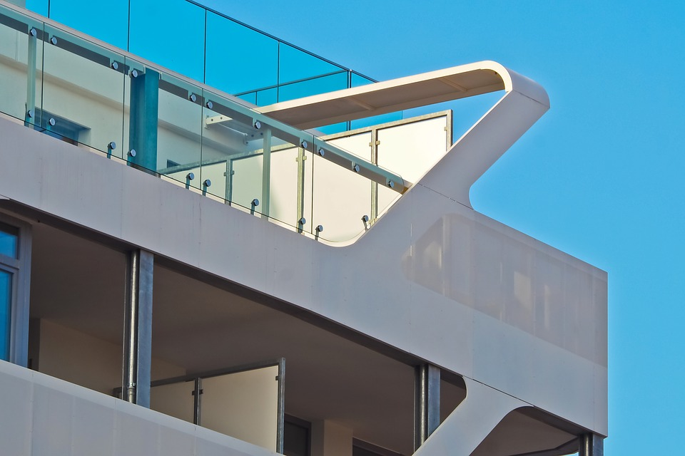 Architecture, Sky, Modern, Building, City, Glass, Blue