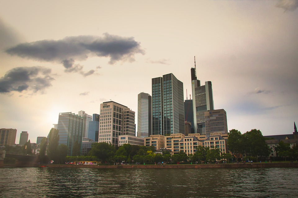 City, Water, Building, Downtown, River, Architecture
