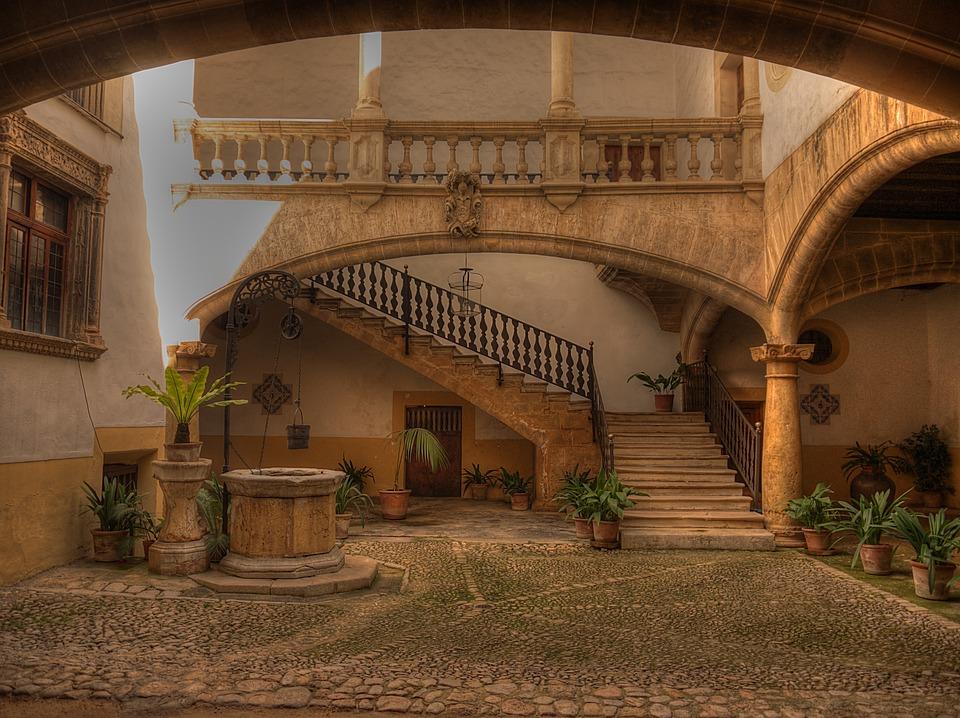 Palma, Mallorca, Spain, Old Town, City, Building
