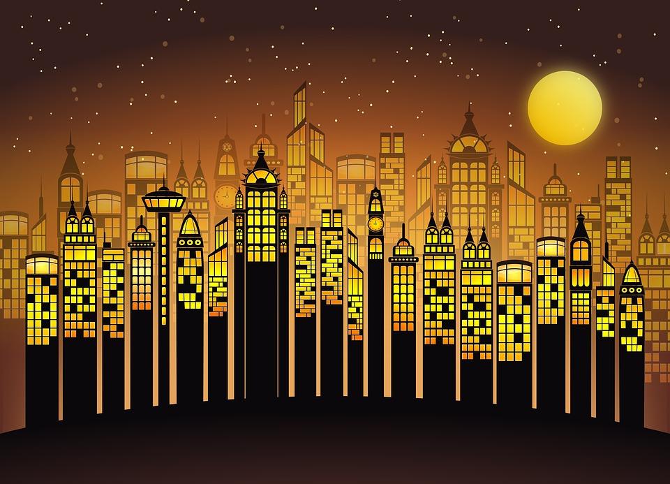 Buildings, Skyscrapers, City, Architecture