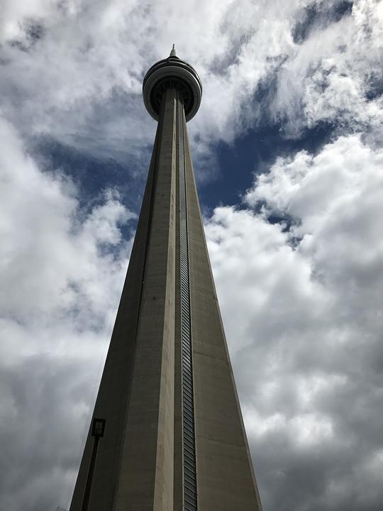 Tower, Toronto, Canada, City, Skyline, Modern