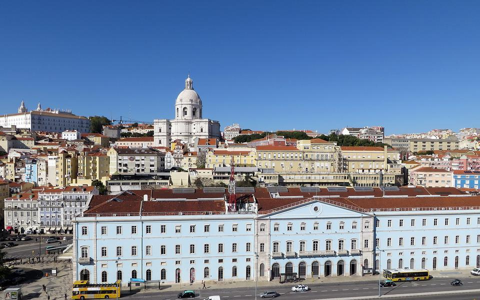 Portugal, Lisbon, City, Lisboa, General View, Cathedral